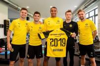 Fußballspieler Borussia Dortmund