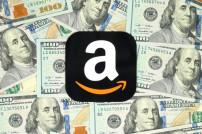 Amazon-Logo mit Geld