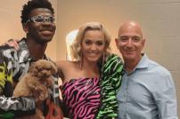 Jeff Bezos + Katy Perry