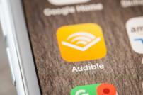 Audible-App auf einem Smartphone