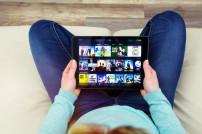 Video-Streaming: Amazon Video auf einem Tablet