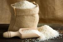 Beutel voll Reis
