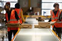 Amazon Arbeiter im Lager