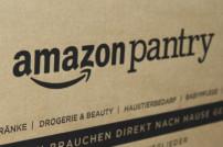 Karton des Lieferservices Amazon Pantry