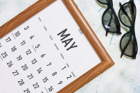 Monat Mai im Kalender
