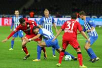 Fußball-Bundesliga Leverkusen-Hertha