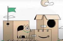 Amazon: Schloss aus Kartons