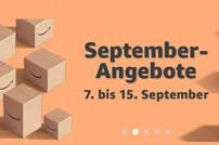 Amazon-Banner zu den neuen September-Angeboten
