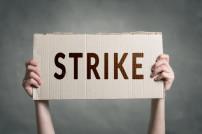 Streik Plakat