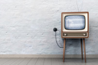Fernseher in Retro-Optik