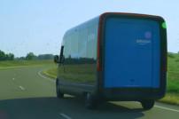 Rivian-Fahrzeug für Amazons Lieferflotte