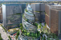 Amazon-Entwurf des neuen Hauptquartiers in Arlington