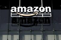 Logo des US-Konzerns Amazon
