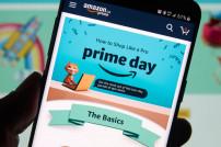 Amazon Prime Day auf einem Smartphone