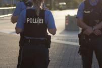Polizisten bei einem Einsatz
