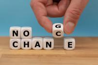 Würfel mit No Change / No Chance