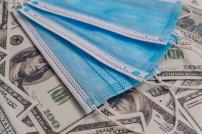 Coronamasken und Geld