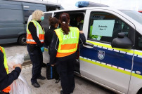 Schwerpunktprüfung Logistikgewerbe des Hauptzollamts Kiel in Bad Oldesloe am 17.08.2021