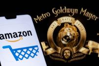Logos von Amazon und Metro-Goldwyn-Mayer