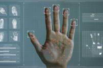 Biometrischer Handscan
