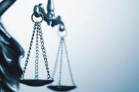 Vor Gericht: Justitia in Nahaufnahme