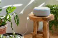 Amazons smarter Lautsprecher Echo mit Alexa-Funktion