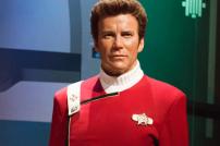 Captain Kirk als Wachsfigur