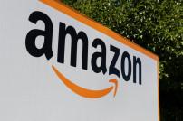 Amazon-Logo auf einem Schild