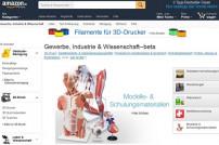 Screenshot Amazon.de Gewerbe, Industrie & Wissenschaft Shop