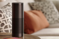 Amazon Echo in einem Zuhause