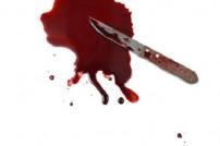 Messer und Blut