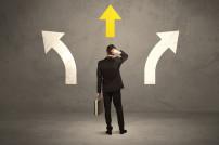 Entscheidung: zwei Wege