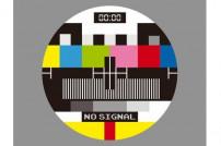 No TV Signal Monoscope
