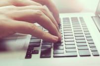 Hämde auf Tastatur