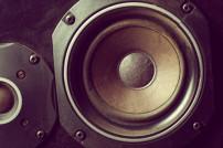Nachaufnahme Lautsprecher