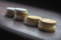 verschiedene europäische Münzen