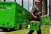 Amazon Fresh-Transporter