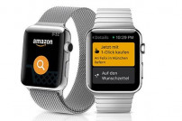 Amazon shopping App auf Apple Watch