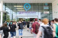 Besucher am Gamescom-Einlass
