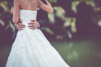 Hochzeit: Braut und Bräutigam