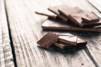 Schokolade in Nahaufnahme