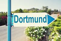 Dortmund auf Wegweiser