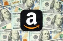 Amazon-Logo auf Geld