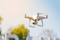 Drohne in der Luft